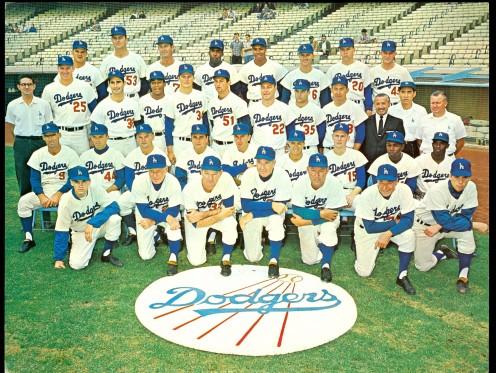 1963 Dodgers Lineup