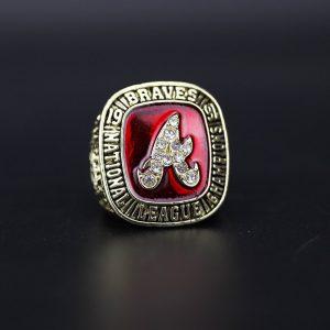 MLB National league Championship Ring Atlanta Braves 1991 David Justice