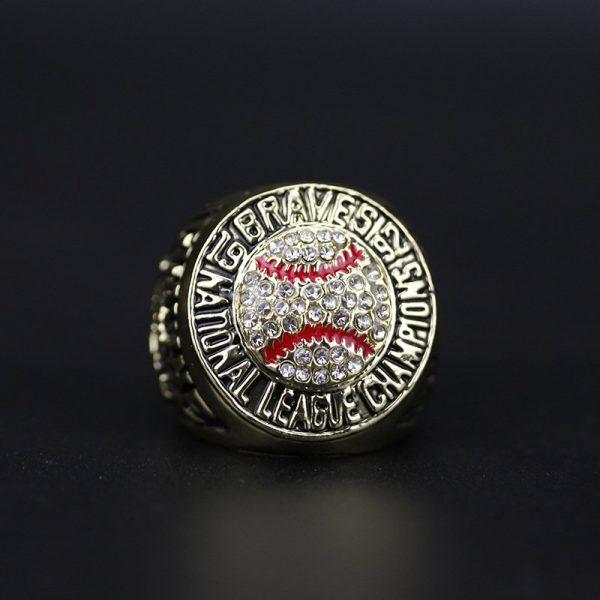 MLB National league Championship Ring Atlanta Braves 1992 Tom Glavine