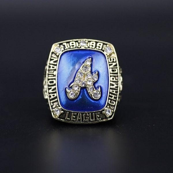 MLB National league Championship Ring Atlanta Braves 1999 Smith
