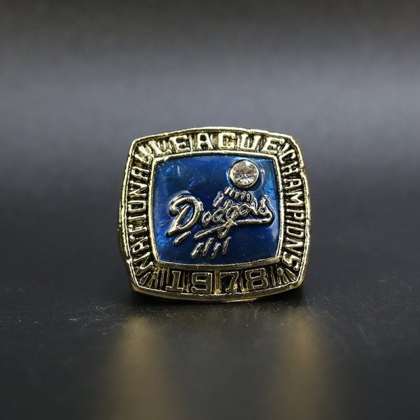 MLB National League Championship Ring Los Angeles Dodgers 1978