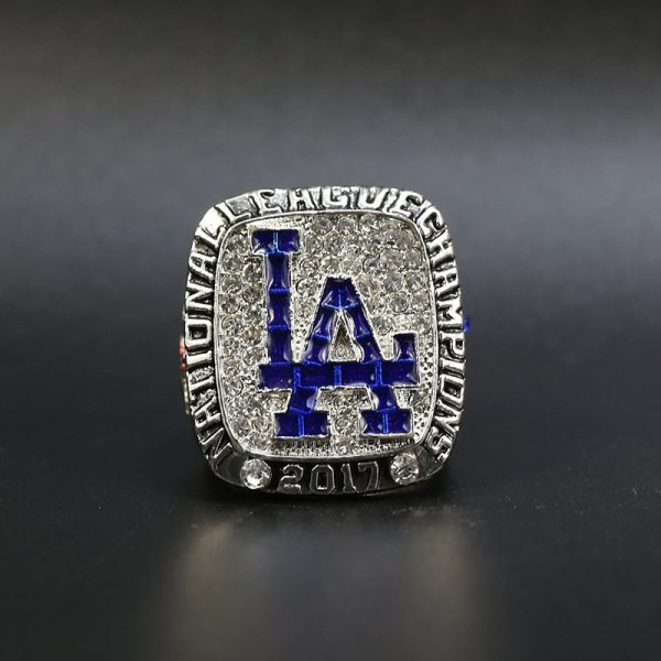 MLB National League Championship Ring Los Angeles Dodgers 2017 Clayton Kershaw