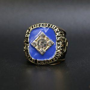 MLB World Series Championship Ring Detroit tigers 1984 Alan Trammell