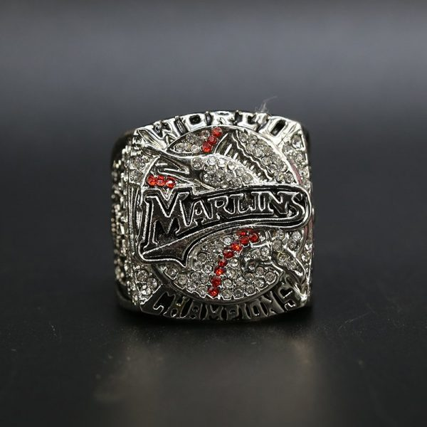 MLB World Series Championship Ring Miami Marlins 2003 Josh Beckett