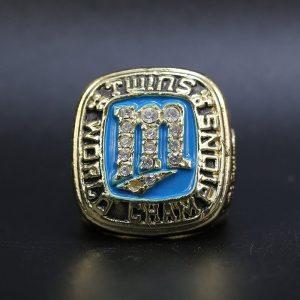 MLB World Series Championship Ring Minnesota Twin 1987