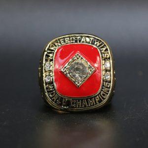 MLB World Series Championship Ring Minnesota Twin 1991 Kirby Puckett
