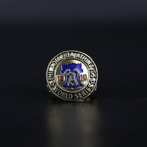 MLB World Series Championship Ring Philadelphia Athletics 1910 Connie Mack