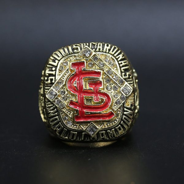 MLB World Series Championship Ring St Louis Cardinals 2006 Bob Gibson