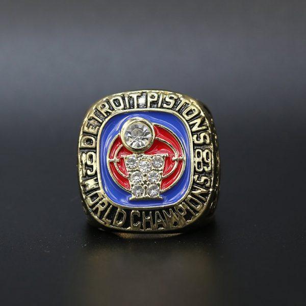 NBA Championship Ring Detroit Pistons 1989 Joe Dumars