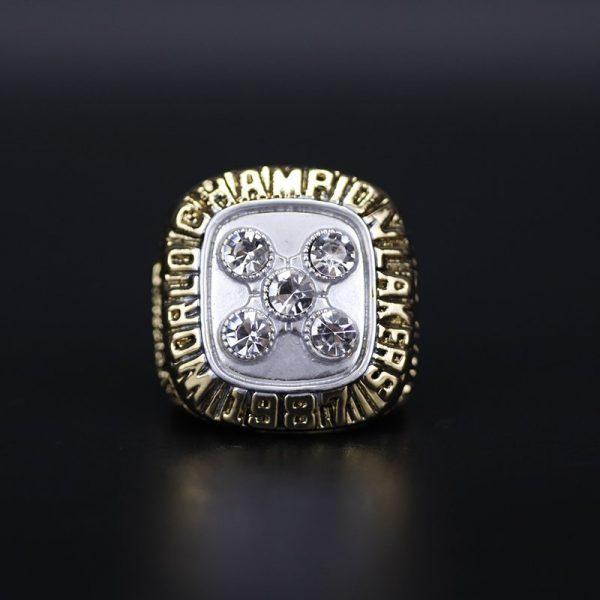 NBA Championship Ring Los Angeles Lakers 1987 Magic Johnson