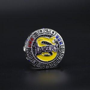 NBA Championship Ring Los Angeles Lakers 2020 LeBron James - Mamba Edition