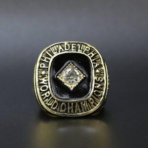 NBA Championship Ring Philadelphia 76ers 1967 Wilt Chamberlain