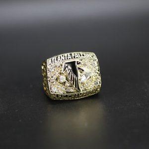 NFL Atlanta Falcons NFC Championship Ring 1998 Randall Cunningham