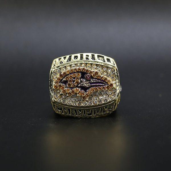 NFL Baltimore Ravens Super Bowl Championship Ring 2000 Ray Lewis