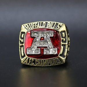 NFL Buffalo Bills AFC Championship Ring 1991 Jim Kelly