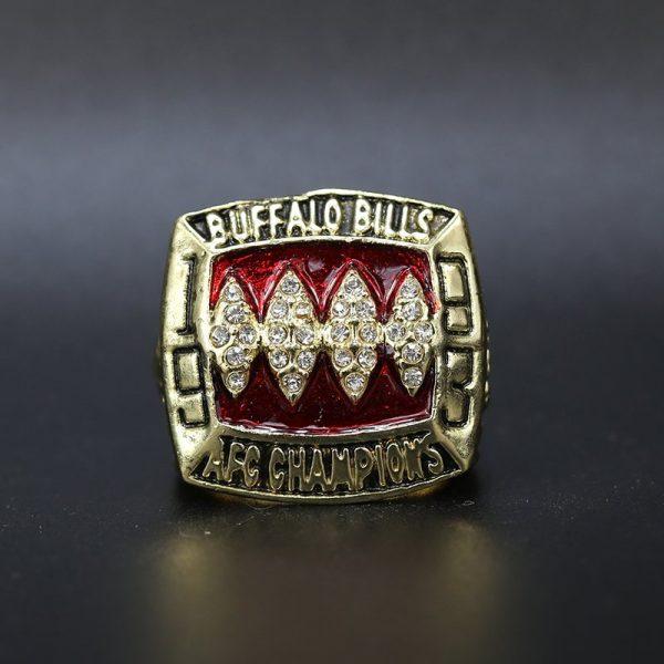 NFL Buffalo Bills AFC Championship Ring 1993 Jim Kelly