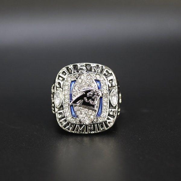 NFL Carolina Panthers NFC Championship Ring 2015 Cam Newton