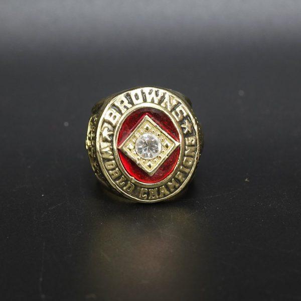 NFL Cleveland Browns NFL Championship Ring 1964