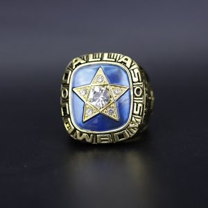NFL Dallas Cowboys NFC Championship Ring 1970 Roger Staubach