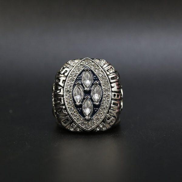 NFL Dallas Cowboys Super Bowl Championship Ring 1993 Silver Michael Irvin
