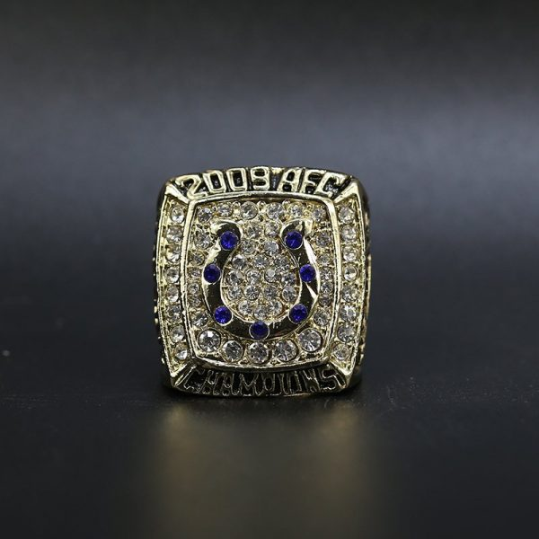 NFL Indianapolis Colts AFC Championship Ring 2009