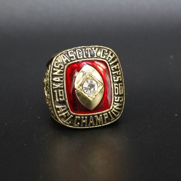 NFL Kansas City Chiefs AFL Championship Ring 1966 Len Dawson