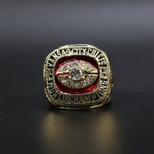 NFL Kansas City Chiefs Super Bowl Championship Ring 1969 Warren McVea