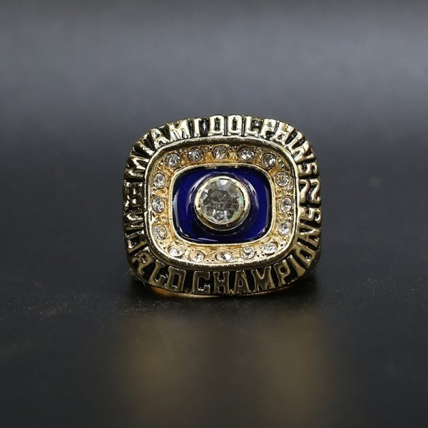 NFL Miami Dolphins Super Bowl Championship Ring 1972 Jake Scott