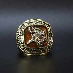 NFL Minnesota Vikings NFC Championship Ring 1973 Chuck Foreman