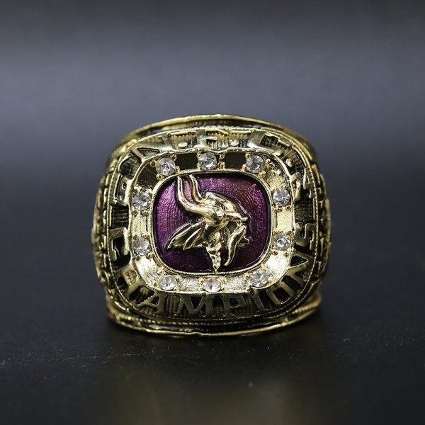 NFL Minnesota Vikings NFC Championship Ring 1974 Bud Grant