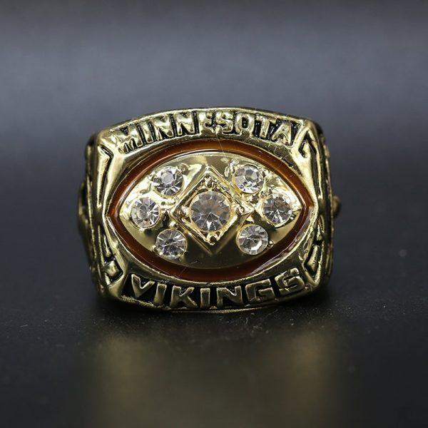 NFL Minnesota Vikings NFC Championship Ring 1976 Gary Anderson