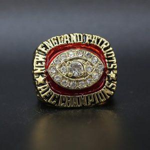 NFL New England Patriots AFC Championship Ring 1985