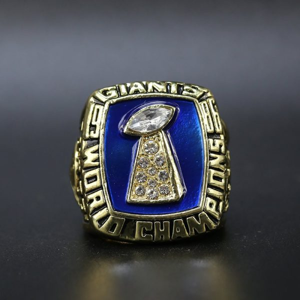 NFL New York Giants Super Bowl Championship Ring 1986 Lawrence Taylor