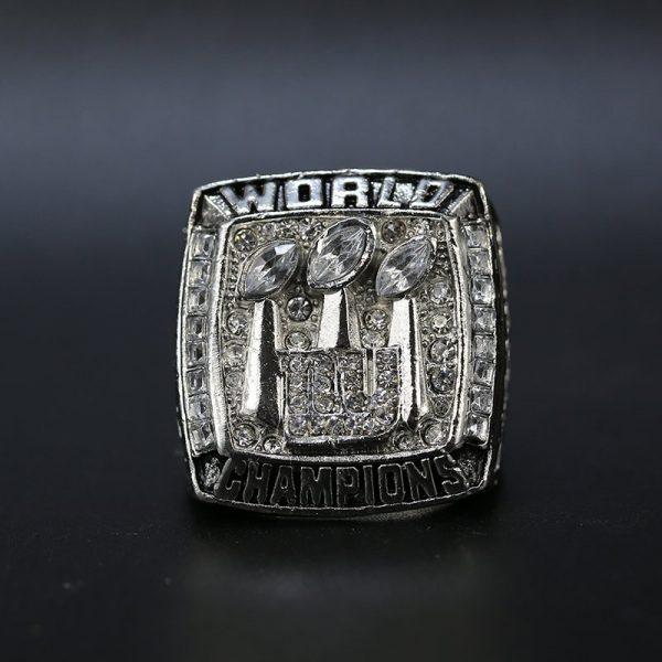 NFL New York Giants Super Bowl Championship Ring 2007 Eli Manning