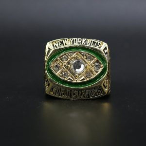 NFL New York Jets Super Bowl Championship Ring 1968 Joe Namath