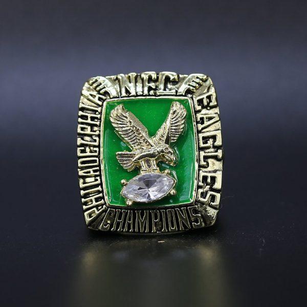 NFL Philadelphia Eagles NFC Championship Ring 1980 Jimmy Johnson