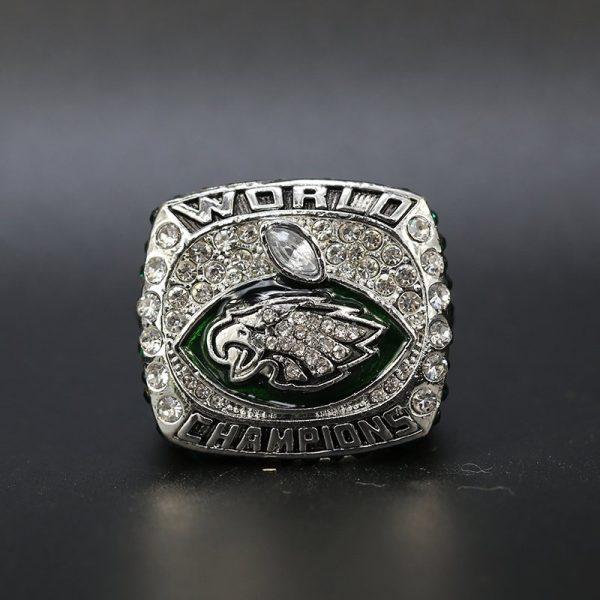 NFL Philadelphia Eagles Super Bowl Championship Ring 2017 MVP Nick Foles
