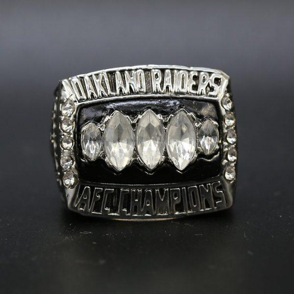 NFL Raiders AFC Championship Ring 2002 Rich Gannon