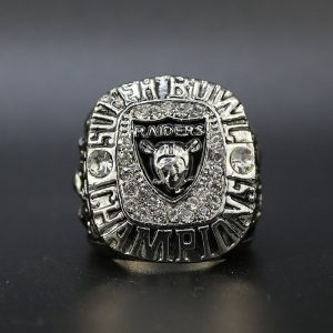 NFL Raiders Championship Ring Team Logo