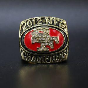 NFL San Franciso 49ers NFC Championship Ring 2012 Chad Hall