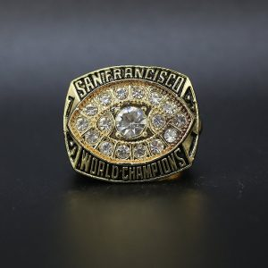 NFL San Franciso 49ers Super Bowl Championship Ring 1981 Joe Montana