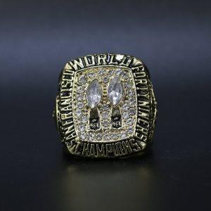 NFL San Franciso 49ers Super Bowl Championship Ring 1984 Joe Montana