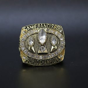 NFL San Franciso 49ers Super Bowl Championship Ring 1988 Jerry Rice