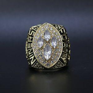 NFL San Franciso 49ers Super Bowl Championship Ring 1989 Joe Montana