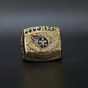 NFL Tennessee Titans AFC Championship Ring 1999 Jevon Kearse