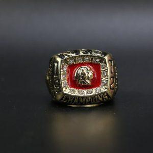 NFL Washington Redskins NFC Championship Ring 1972 George Allen