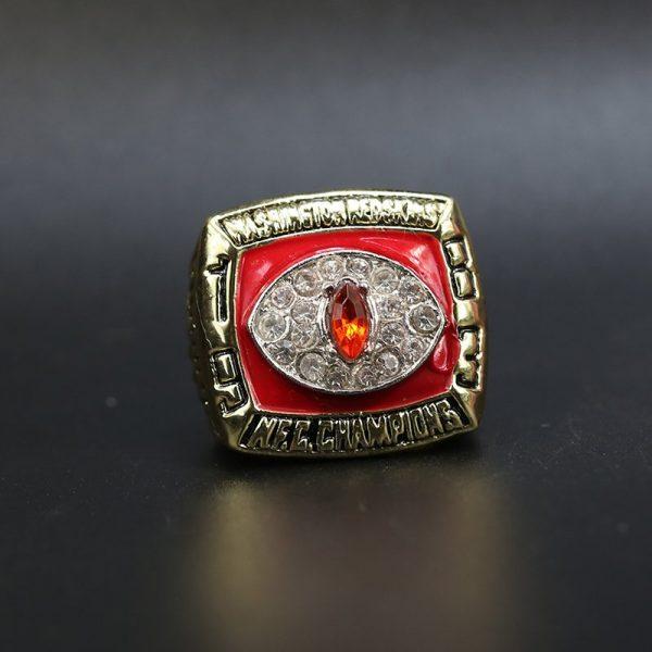 NFL Washington Redskins NFC Championship Ring 1983 John Riggins