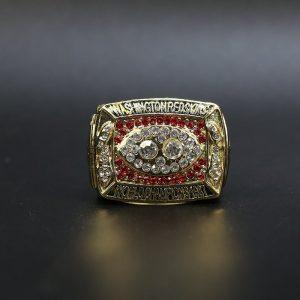 NFL Washington Redskins Super Bowl Championship Ring 1987 Dexter Manley