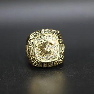 NHL Calgary Flames  Stanley Cup Championship Ring 1989 Lanny McDonald
