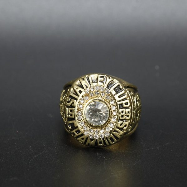 NHL Edmonton Oilers  Stanley Cup Championship Ring 1985 Wayne Gretzky